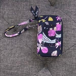 New Vera Bradley Floral Nightingale pattern wallet